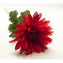 Gerbera 50 cm Rouge/Noir