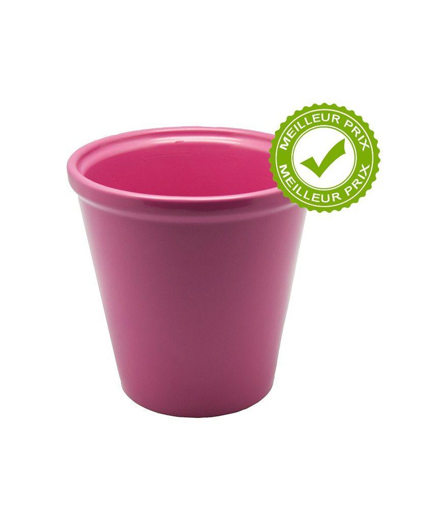 Cache pot c ramique orchid e rose - Cache pot ceramique ...
