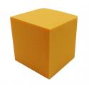 CUBE - Mousse Rainbow Mandarine 15 cm par 2