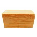 Cube Mousse 15 cm Mandarine x2
