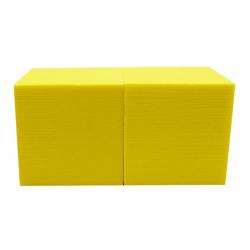 Cube Mousse 15 cm Soleil x2