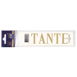 TANTE - Expression Deuil