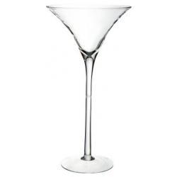 MARTINI 90 - Vase Martini en Verre hauteur 90 cm