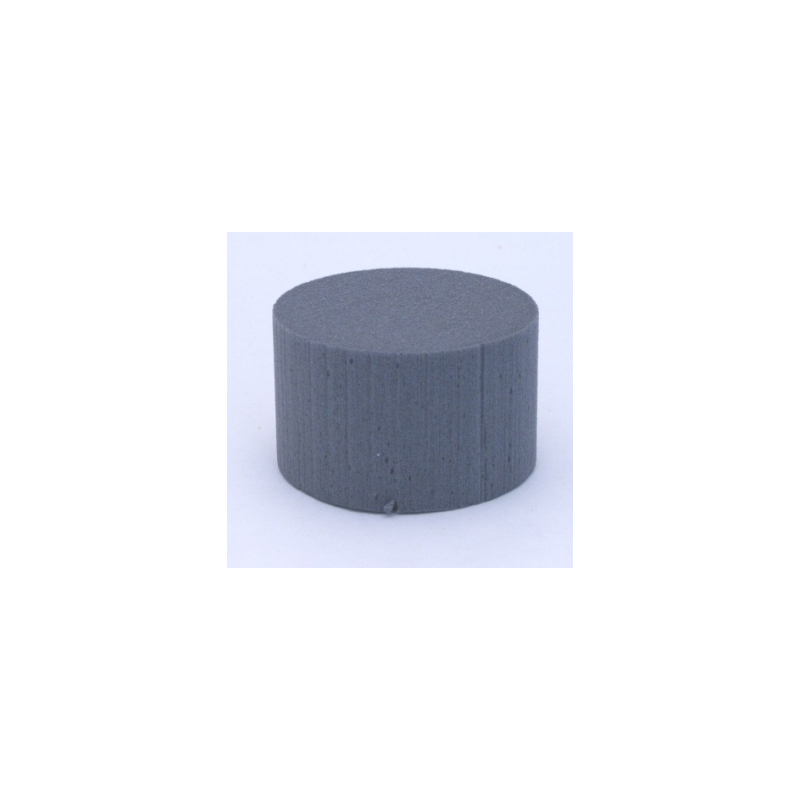 Cylindre Mousse 8cm Anthracite x6