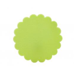 Tarte Cannelée Vert Anis D15cm H5 par 2