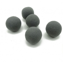 Mini Sphère Mousse d4cm Anthracite par 20