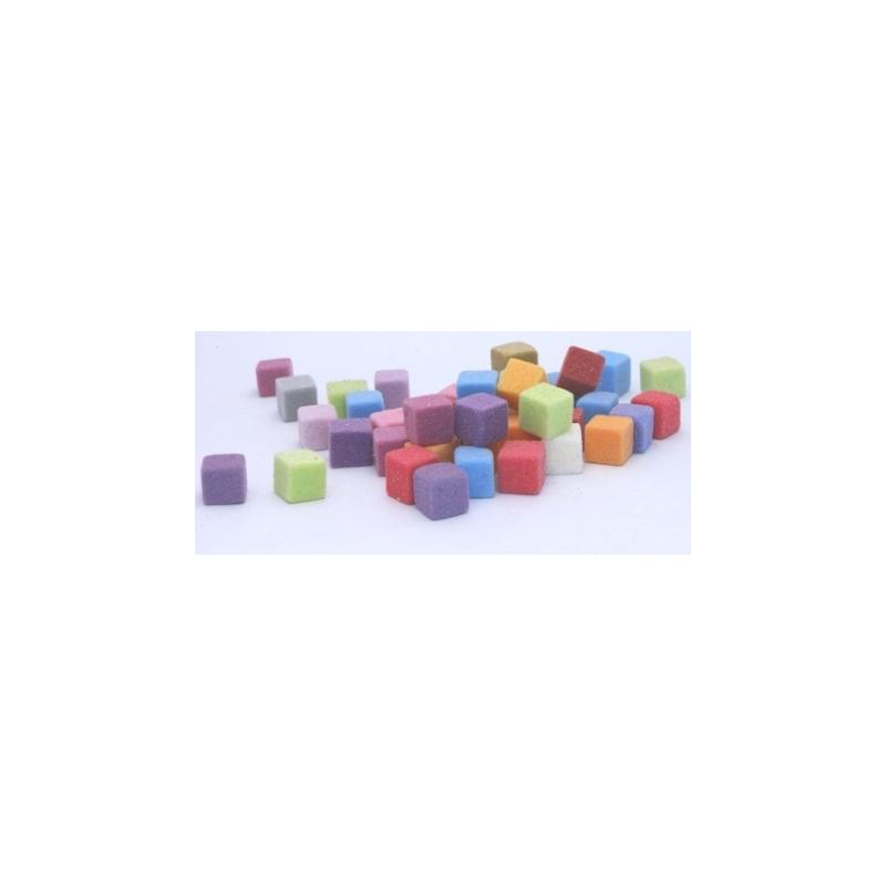 Mini-cubes Mousse 2 cm Arlequin