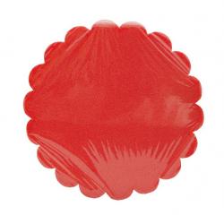 Tarte Cannelé Rouge Baroque D15cm H5 par 2