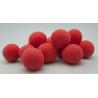 Mini Sphère Mousse d4cm Rouge par 20