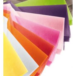 Rame Soie Mixées 10 couleurs 480 feuilles 50x75 cm