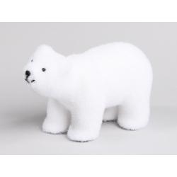 Ours Polaire d23 cm Blanc