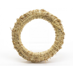 Couronne de Paille d30 cm Naturel