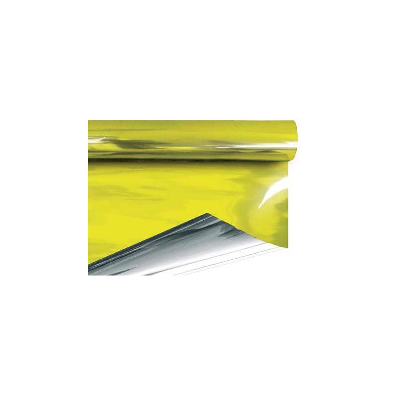 Papier Métal Kaki Lemon 0.70x50 m