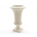 Vase Médicis Blanc d37 h61 cm