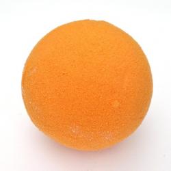 SPHÈRE - Mousse Rainbow Mandarine, 7 cm, par 5