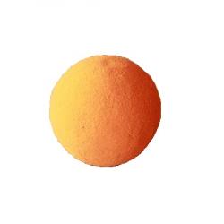 SPHÈRE - Mousse Rainbow Mandarine, 9 cm, par 5