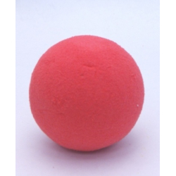SPHÈRE - Mousse Rainbow Rouge, 9 cm, par 5