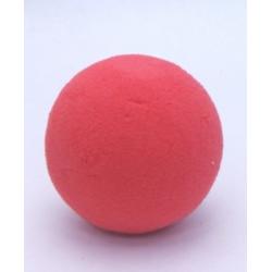 Sphere Mousse 9cm Rouge Baroque x4