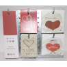 Présentoir + Cartes Message St-Valentin