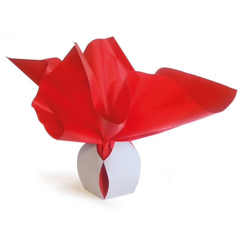 Bulle Box Small 6x9 cm par 10 Rouge/Rouge