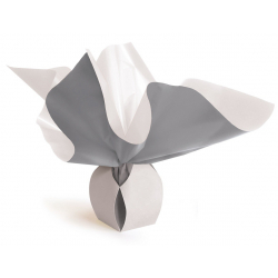 Bulle Box Small 6x9 cm Gris/Blanc par 10