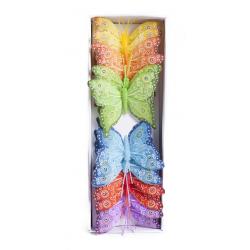 Papillons 8 cm par 12