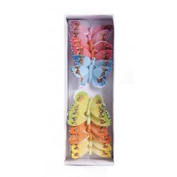 BRINTE - Papillons 8cm par 12