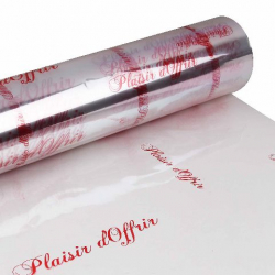 PLAISIR D'OFFRIR - Rouge 60 x 120m Cello Fantaisie 40µ