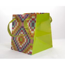 Sac Cubi Vert 14,5 x14,5x14,5 par 10