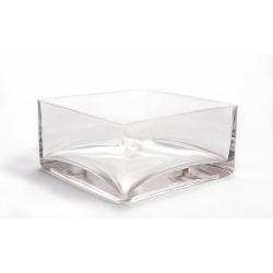 Coupe verre carrée 16x16 h8 cm