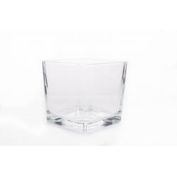 Cube Verre 10x10 h10 cm par 6