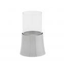 Lanterne Inox d10.5 x h16 cm