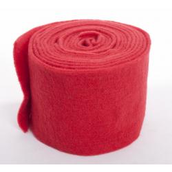 Ruban de Laine 15cm x 5 m Rouge