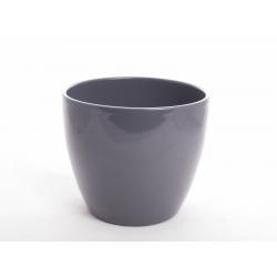 LUCILE - Pot Gris D17,5 x H15 cm Par 4