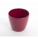 LUCILE - Pot Rouge D17,5 x H15 cm Par 4