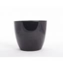 Pot d17.5 x h15 cm Noir par 4
