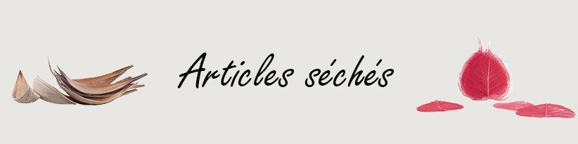 Articles Séchés