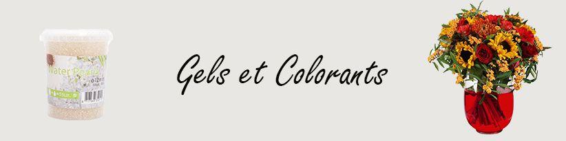 Gels et Colorants - Grossiste pour Fleuristes et Professionnels