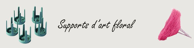 Support Art Floral