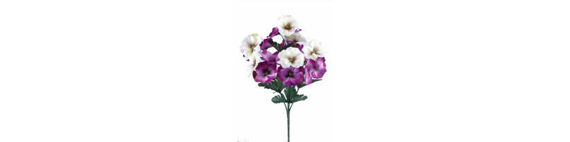 Fleurs à la tige
